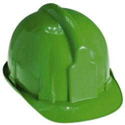 Cascos para obra maurer verde