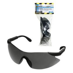 Gafas protec.en166 p.ajust.gris