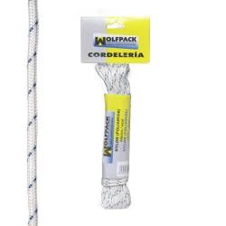 Cuerda nylon alta t.bla/azul (mad.10 mt)