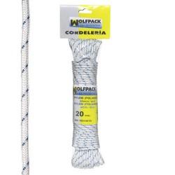 Cuerda nylon alta t.bla/azul (mad.20 mt)
