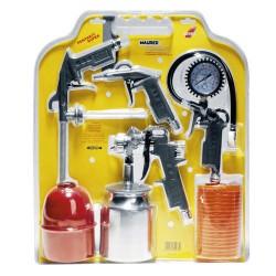 Kit accesorios compresor maurer 5 pz.