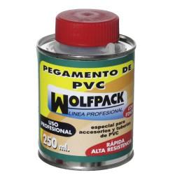 Pegamento pvc wolfpack c/pinc. 250cc