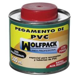 Pegamento pvc wolfpack c/pinc. 500cc