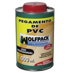 Pegamento pvc  wolfpack  c/pinc. 1000cc
