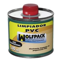 Limpiador wolfpack tuberias pvc 500cc