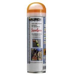 Spray maurer trazador naranja fluorecent