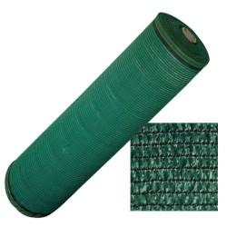 Malla sombreo 90% verde oscu.1,0mt r.100