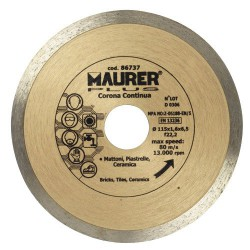 Disco diamante maurer continuo 115mm