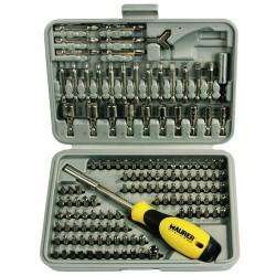 Jgo.puntas maurer 1/4 25-50mm+adap 138pz