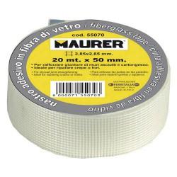 Cinta fibra vidrio adhesiva 50mm x 20mt