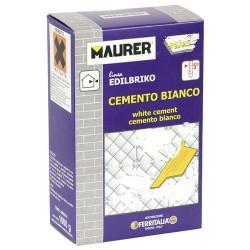 Edil cemento blanco maurer (caja 1k)