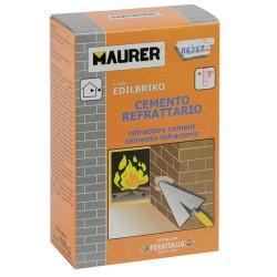 Edil cemento refractar.maurer (caja 1k)