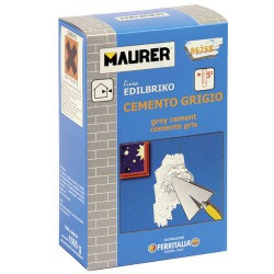 Edil cemento gris maurer (caja 1k)