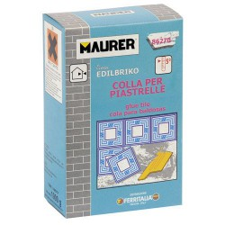 Edil cemento cola maurer (caja 1k)