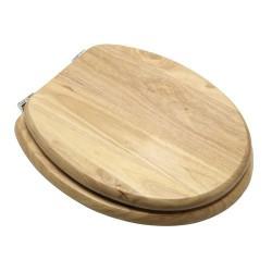 Asiento wc madera natural