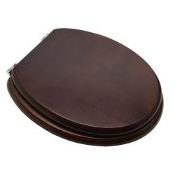 Asiento wc madera nogal