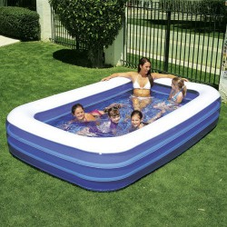 Piscina inflable rectang.305x183x56cm