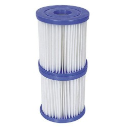 Pisc.filtro p/hidro (i) 1,249l/h pack 2