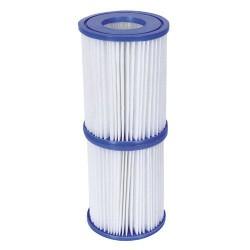 Pisc.filtro p/hidro (ii)2-3,028l/h pack2