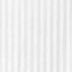 Cortina ducha tela rayas blancas 180x200