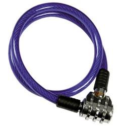 Cable bicicleta c/combinacion 8mmx55cm