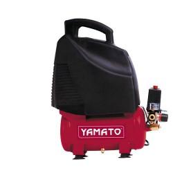 Compresor yamato 6 l./ 1,5hp sin aceite