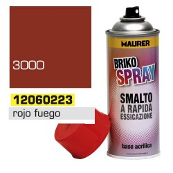 Spray maurer rojo fuego            400ml