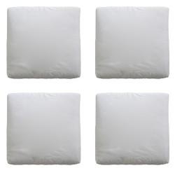 Cojines p/sciacca marr sllon 4pz blanc