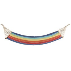 Hamaca colgante c/travesaño multicolor