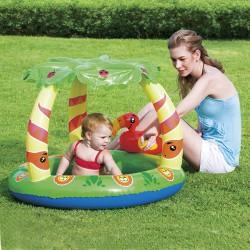 Piscina infantil c/parasol 99x91x71cm
