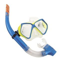 Jgo.snorkel gafas+tubo c/valvu.+14 años
