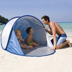 Parasol tipo carpa p/playa sist.pop up