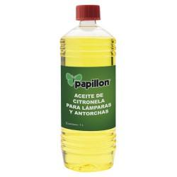 Aceite p/antorcha antimosq.citronela 1lt