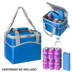 Nevera bolsa termica 20lt azul