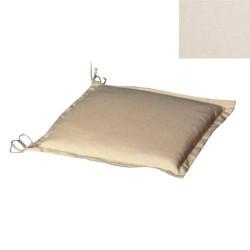 Cojin p/silla 50x50x5cm beige desenfund.