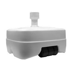 Base sombrilla abs c/ruedas