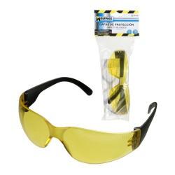 Gafas protec.en166 sport ambar