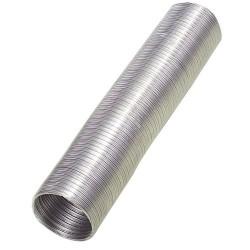 Tubo alum.comp.gris 125mm. 5 mt