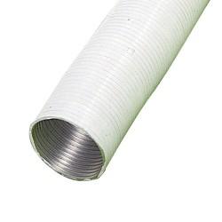 Tubo alum.comp.blanco 100mm. 5 mt