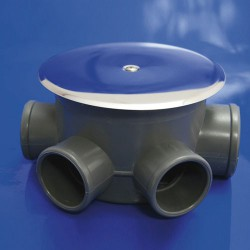 Bote sif. pvc t-85-c 110 50-40 alt-69mm
