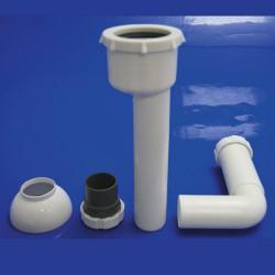 Desague urinario t-79c 50-40 acod.c/pla