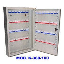 Caja Archivo 100 Llaves Bambú K380-100