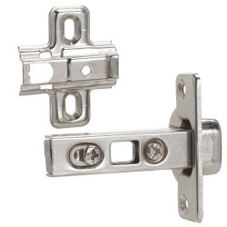 Bisagra cazoleta c/clip recta 35 mm