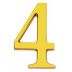 "Numero wolfpack ""4"" laton 10cm+torn-bl.1"