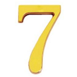 "Numero wolfpack ""7"" laton 10cm+torn-bl.1"