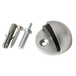 Tope puerta acero inox plata mate(bl.1)
