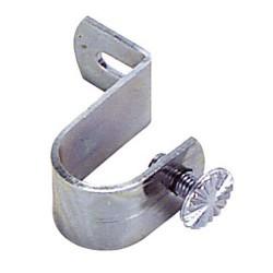 Soporte tubo 16 mm.cromo 9 techo