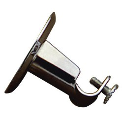 Soporte tubo 12mm.cromo 12 techo redondo