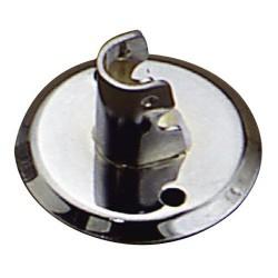 Soporte tubo 19mm.cromo lateral