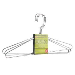 Percha oryx metal camisa 400mm (pack 3p)